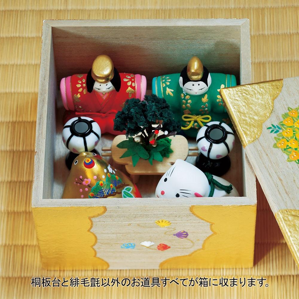 島田耕園人形工房 お伽箱(とぎばこ) おひなかざり商品画像