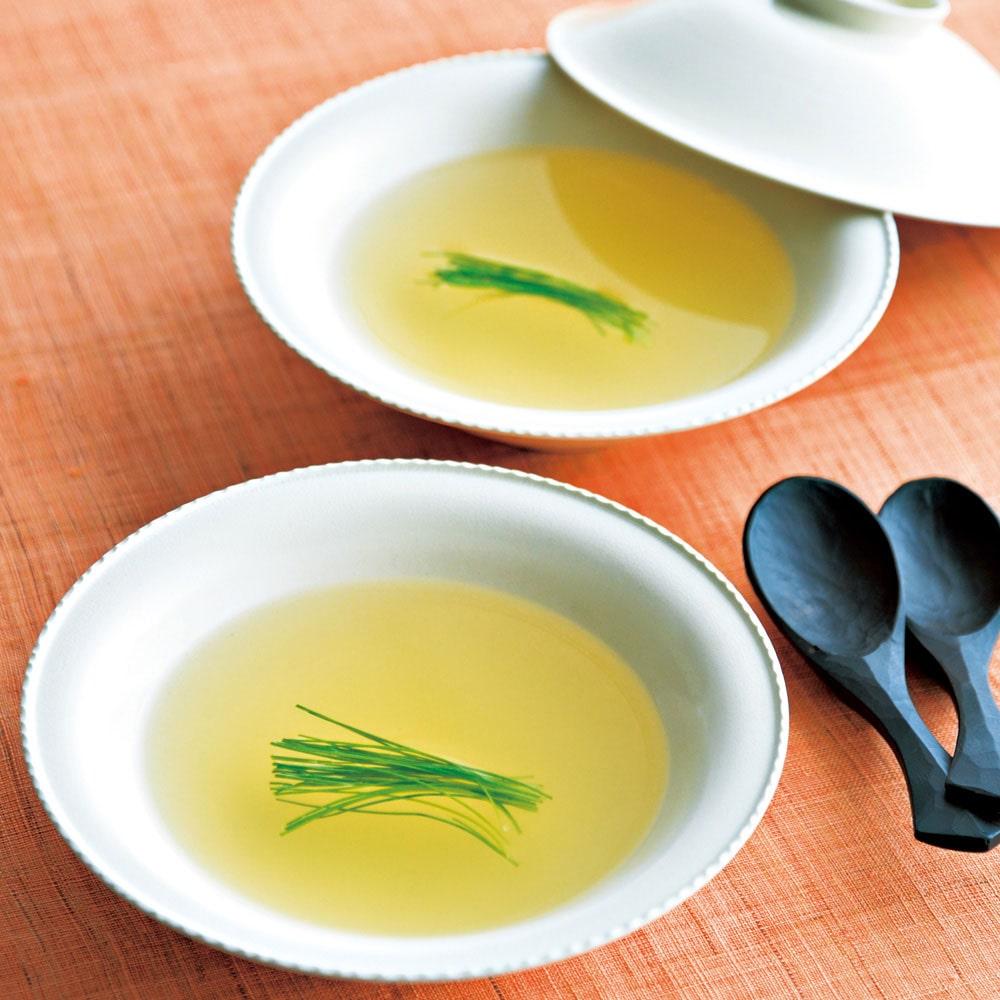 季節の変わり目にはこんなスープを