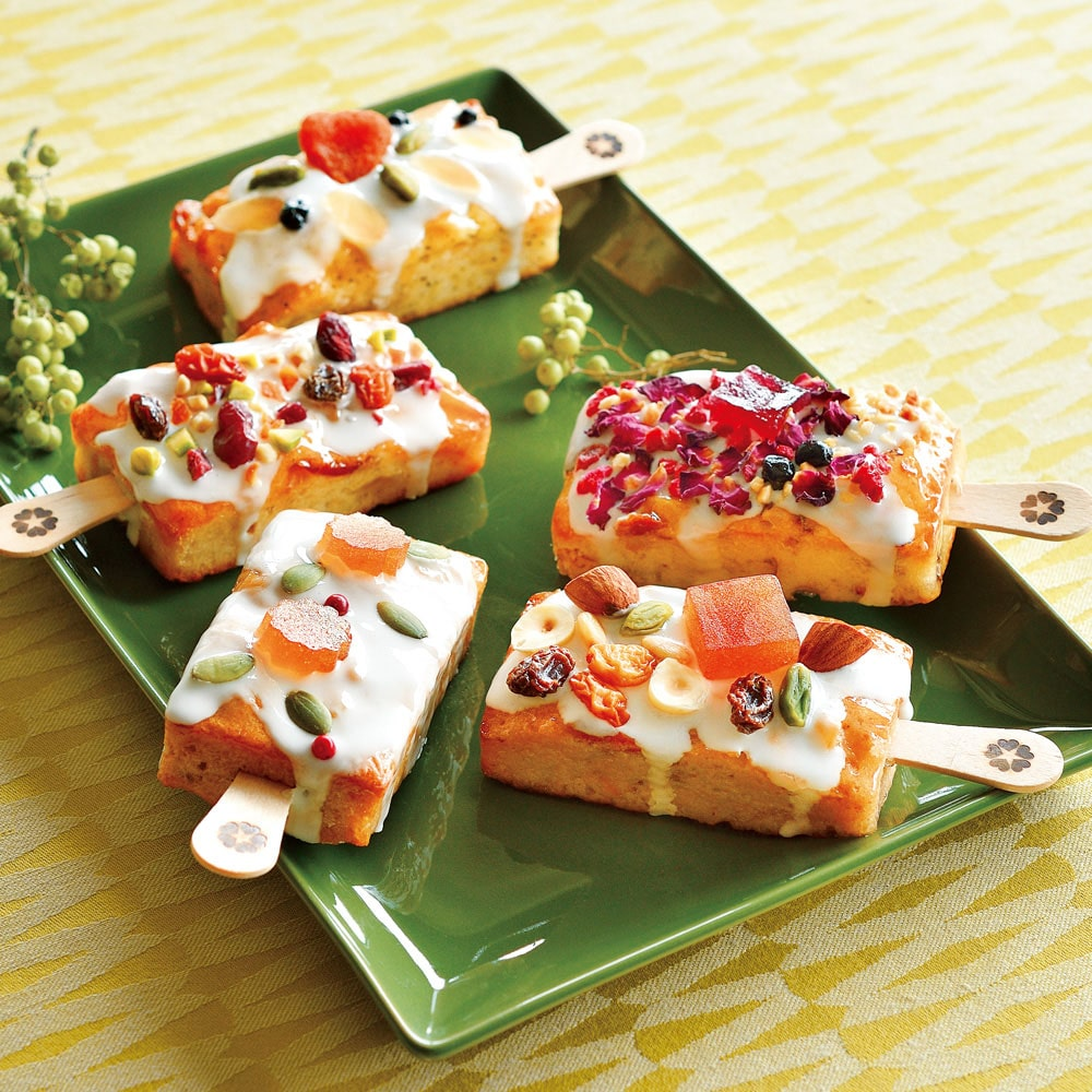 ローズ レシピ 洋菓子