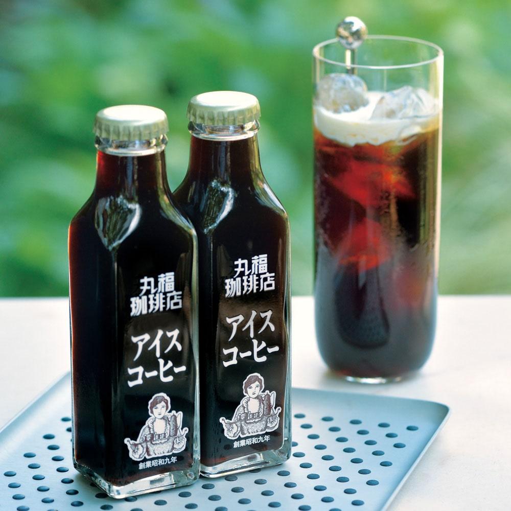 婦人画報のお取り寄せ【婦人画報】丸福珈琲店 瓶詰アイスコーヒー6本入(加糖)