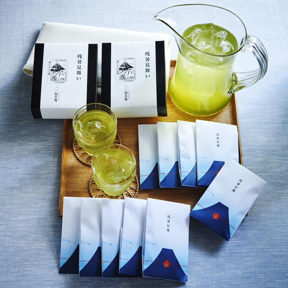 婦人画報のお取り寄せ【婦人画報】一福茶箋 冷茶(残暑見舞い)10袋入り