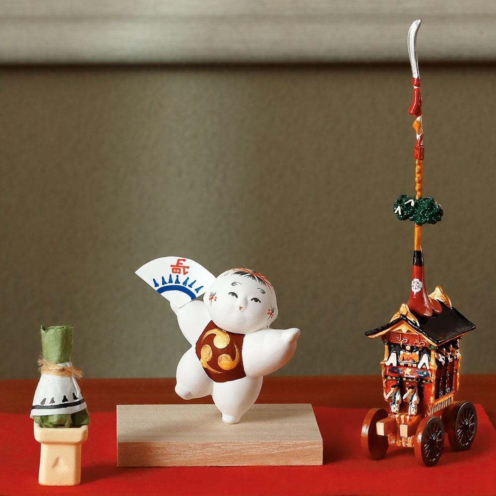 婦人画報のお取り寄せ【婦人画報】小御所人形「祇園祭」