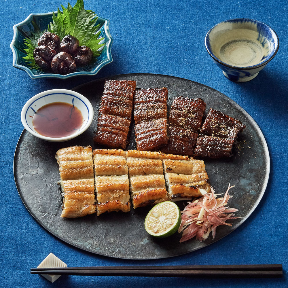 【婦人画報】味くらべ(蒲焼・白焼・肝焼き)