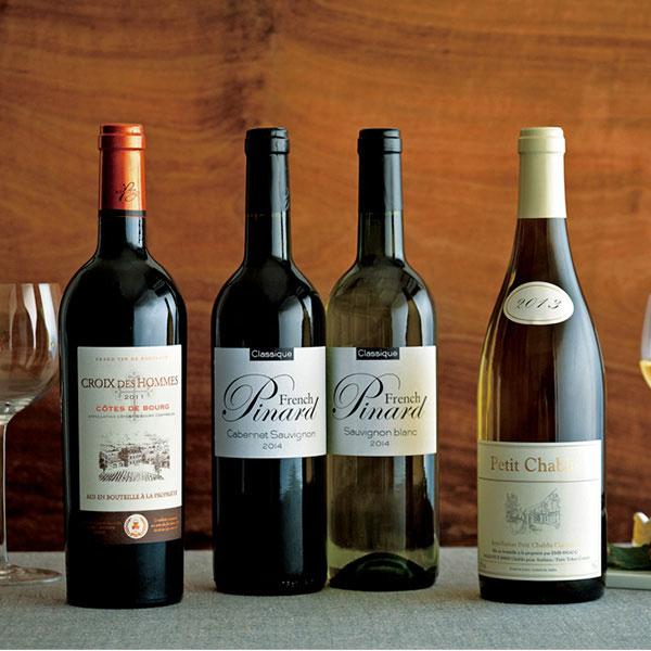 婦人画報のお取り寄せ【婦人画報】フランスワイン 4本セット