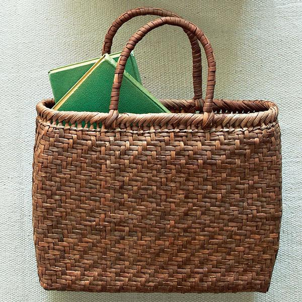 つる工房鷹山 山ぶどう網代編み籠バッグ