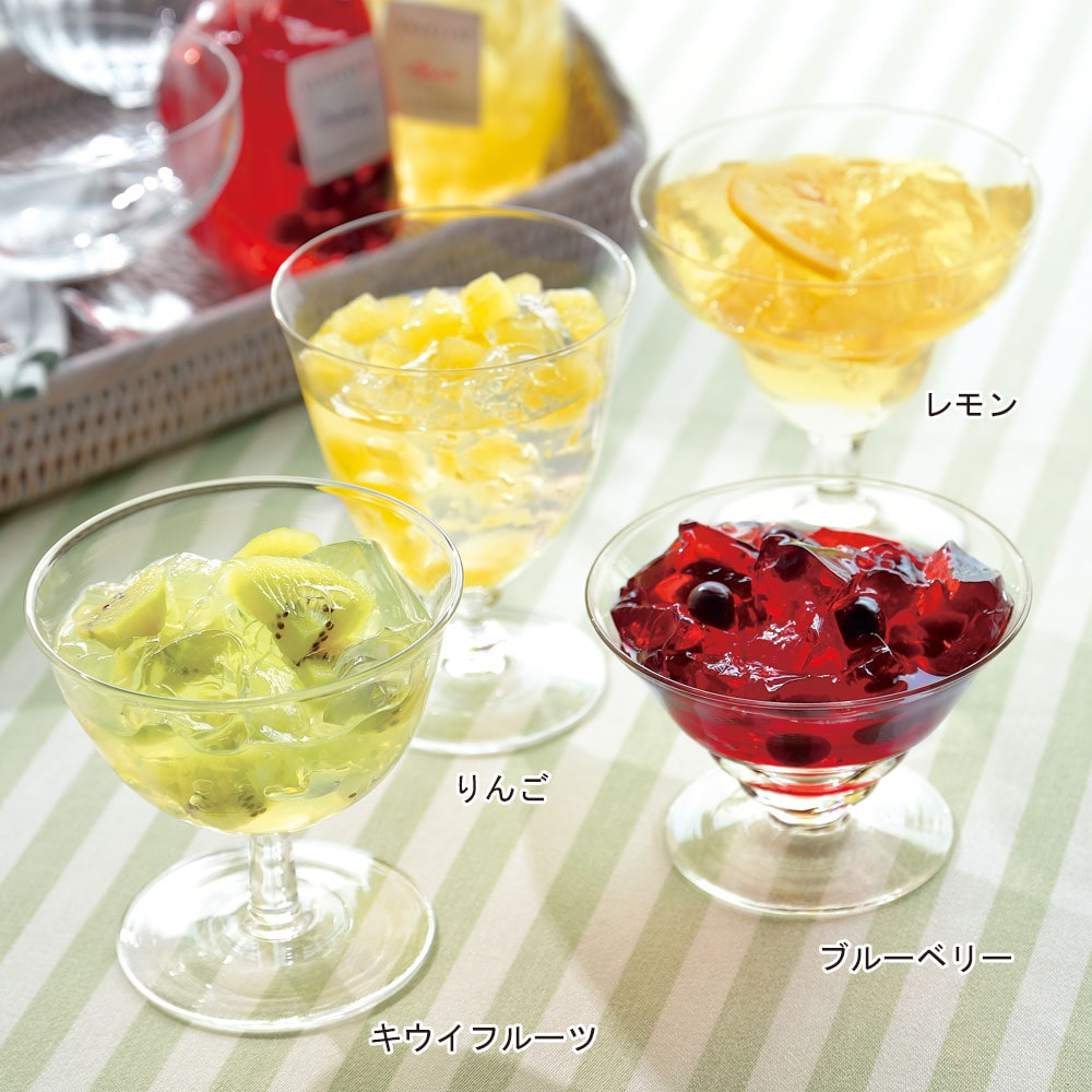 ベジターレ 国産生フルーツゼリー 4種6個入り