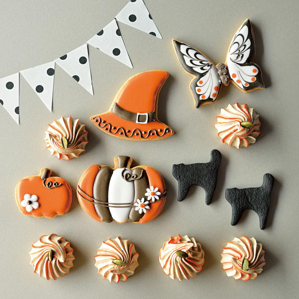 La Poche ハロウィンのアイシングクッキーギフト