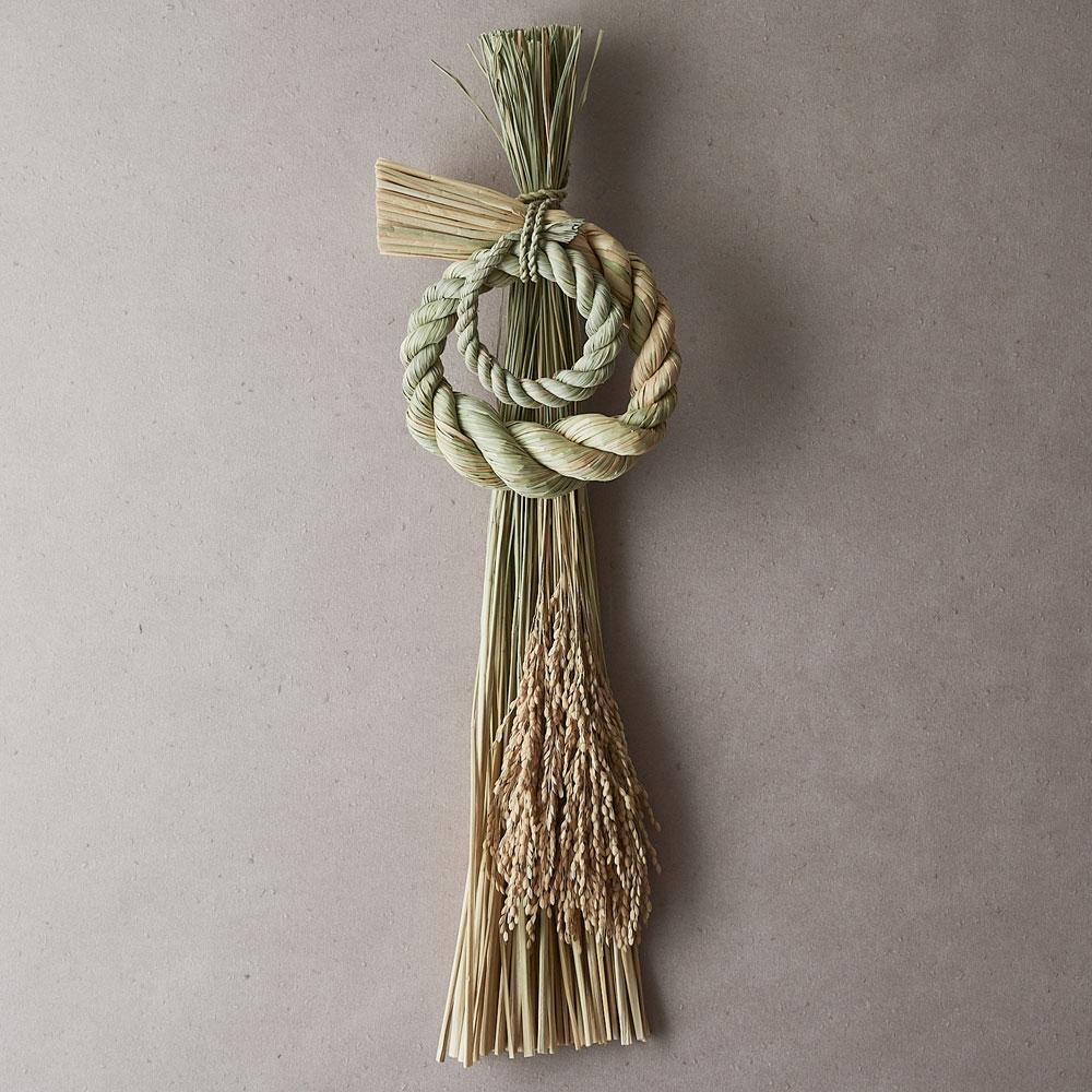 婦人画報のお取り寄せ【婦人画報】注連縄 寿ぎ 宝珠飾り